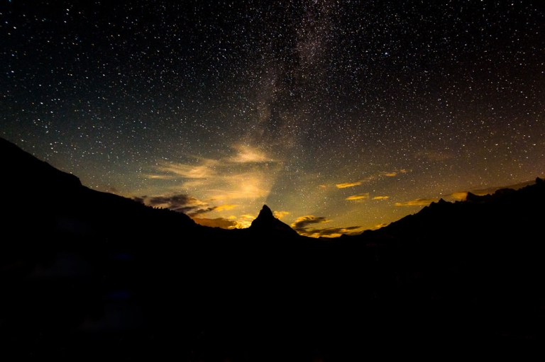 Matterhorn by Night